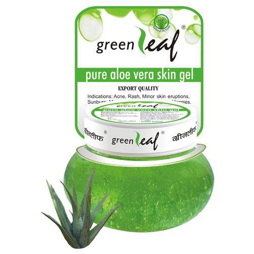 Green Leaf Aloe Vera Skin Gel, 120 g