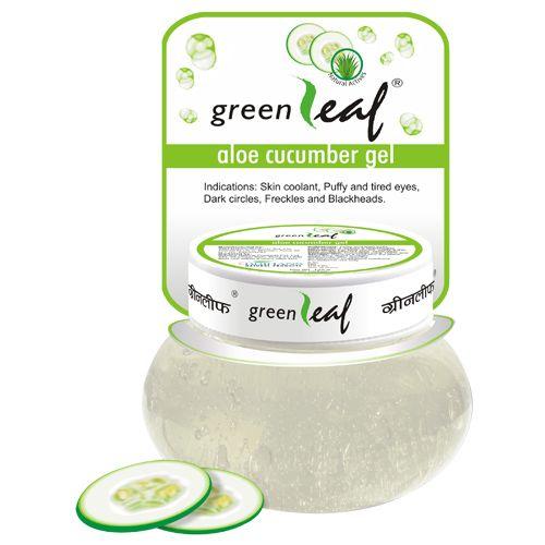 Green Leaf Aloe Cucumber Gel, 120 g