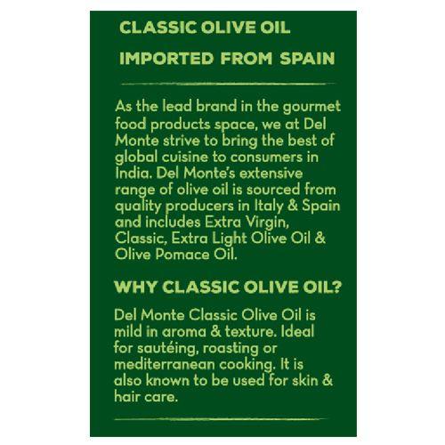 Del Monte Olive Oil - Classic, 200 ml