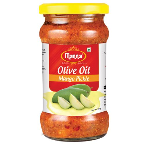 Manna  Olive Oil Pickle - Mango, 300 g