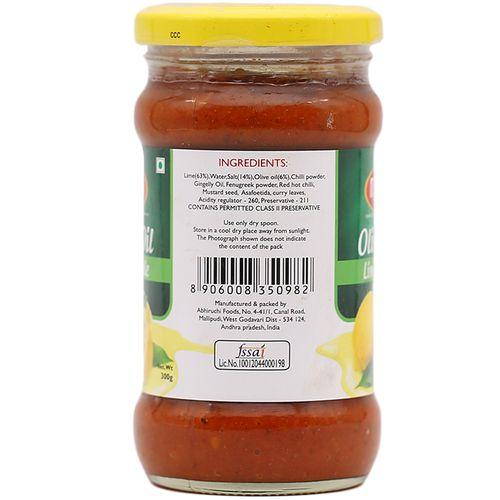 Manna  Olive Oil Pickle - Lime, 300 g