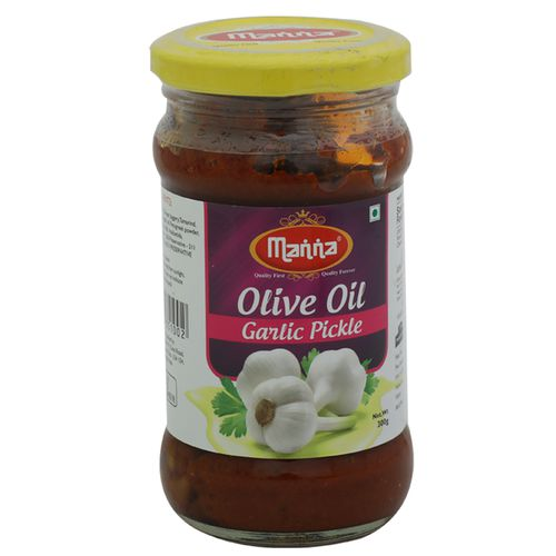 Manna  Olive Oil Pickle - Garlic, 300 g