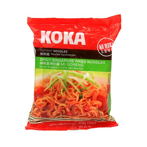 Koka Instant Noodles - Spicy Singapore Fried, 85 g