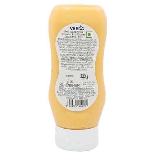 Veeba Honey Mustard Dressing, 300 g