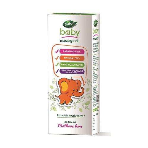 Dabur Baby massage oil - with Olive & Almond, 100 ml