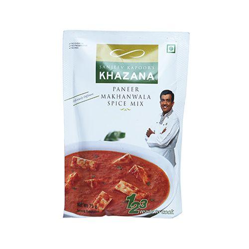 Sanjeev Kapoors Khazana Mix - Paneer Makhanwala Spice, 75 g