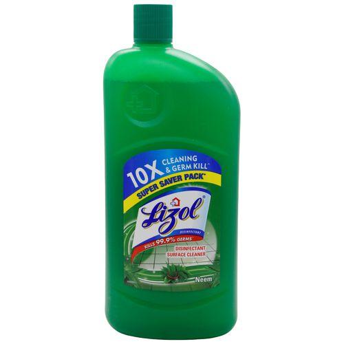 Lizol Disinfectant Floor Cleaner - Neem, 975 ml