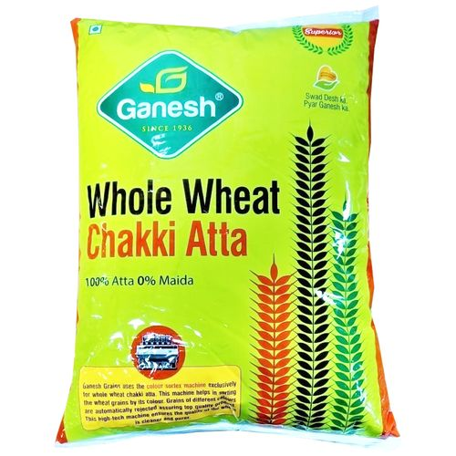 Ganesh Whole Wheat Atta, 10 kg