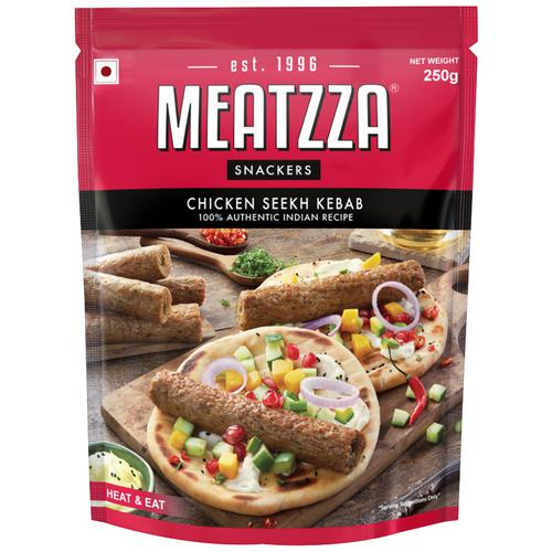 Meatzza Chicken - Seek Kabab, 250 g