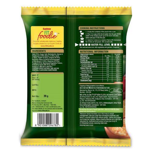 Saffola Masala Oats - Italian, 39 g