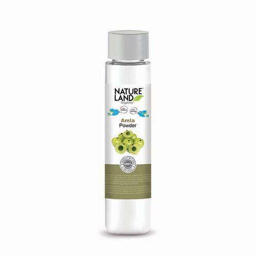 Natureland Organics Amla Powder, 100 gm Plastic Bottle