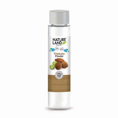 Natureland Organics Triphala Powder, 100 g Plastic Bottle