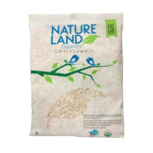 Natureland Organics Oat Flakes, 250 g Packet