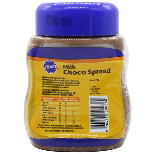 Pillsbury Milk Choco Spread, 290gm
