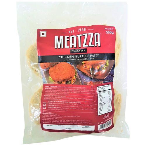 Meatzza Chicken - Burger, 500 gm