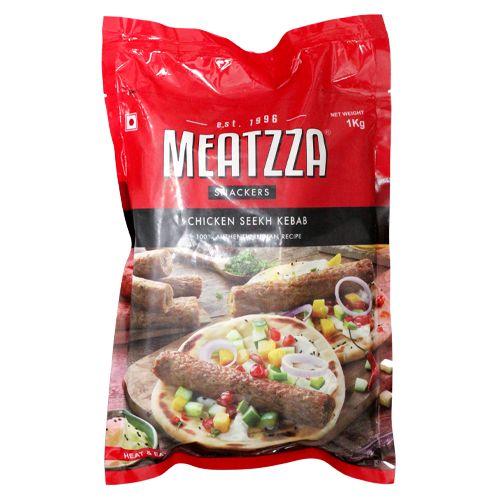 Meatzza Chicken - Seekh Kebab, 1 kg
