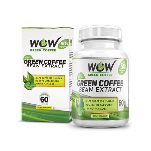 Buy WOW Capsule Green Coffee Bean Extract Capsules online ...