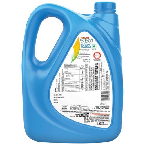 Fortune  Vivo Pro Sugar Conscious Edible Oil, 5 L Jar
