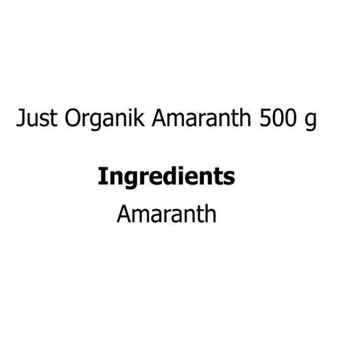 Just Organik Amaranth, 500 g