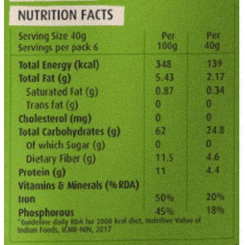 Health Sutra Flakes - Bajra, 250 g