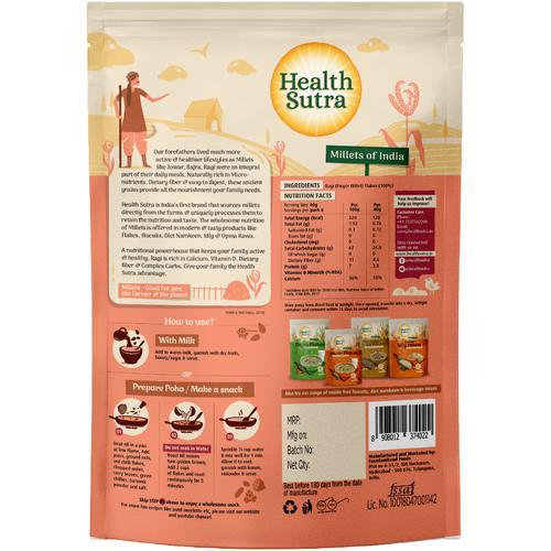 Health Sutra Flakes - Ragi, 250 g
