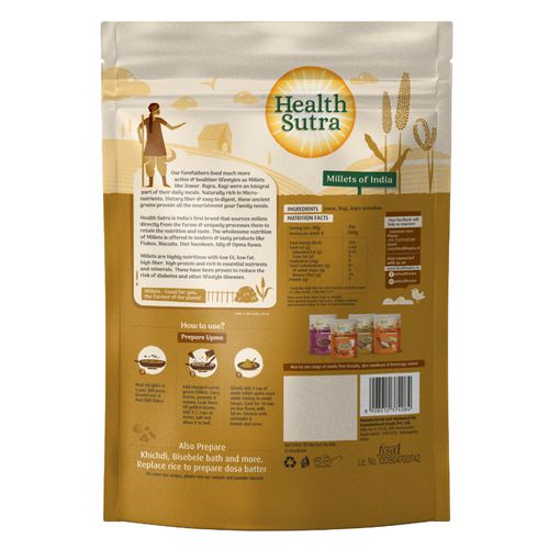 Health Sutra Health Sutra Millet Upma Rawa, 500 g