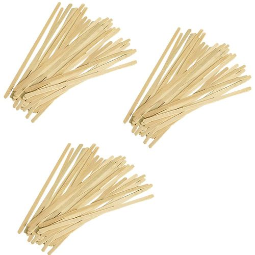 Ezee  Wooden Coffee Stirrer 4.5 Inch, 100 pcs
