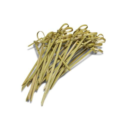 Ezee  Bamboo Knot Skewers - 5 Inch, 100 pcs