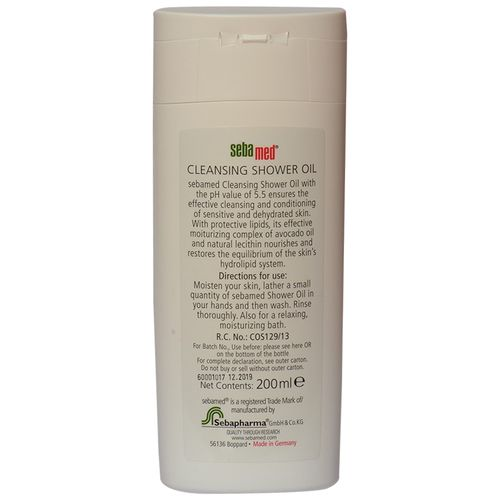 Sebamed Cleansing Shower Oil, 200 ml