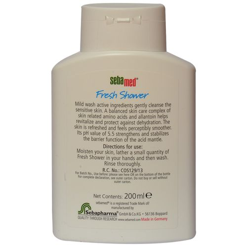 Sebamed Fresh Shower Gel, 200 ml