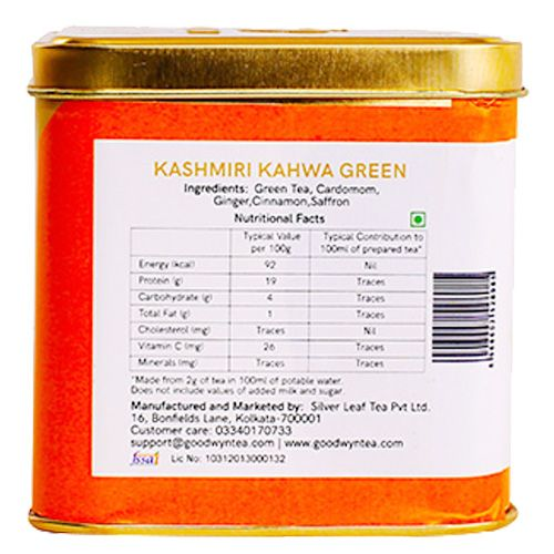 Goodwyn Green Tea - Kashmiri Kahwa, 100 g