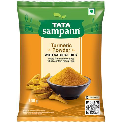 Tata Sampann Turmeric Powder/Arisina Pudi, 100 g