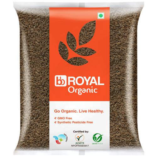 BB Royal Organic - Cumin/Jeera/Jeerige, 100 g