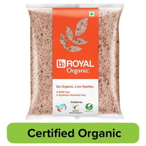 bb Royal Organic Red Poha, 500 g