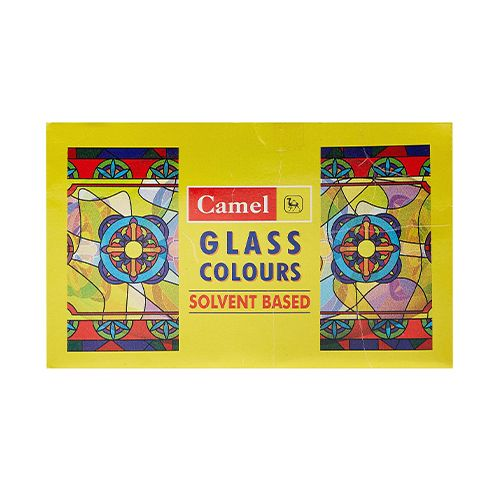 Camlin Glass Colour - Solvent Based, 5 Shades, 1 pc