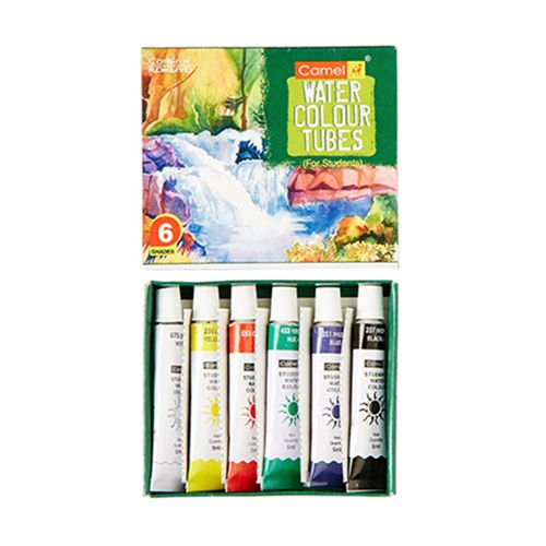 Camlin Student Water Colour Tube - 6 Shades, 1 pc