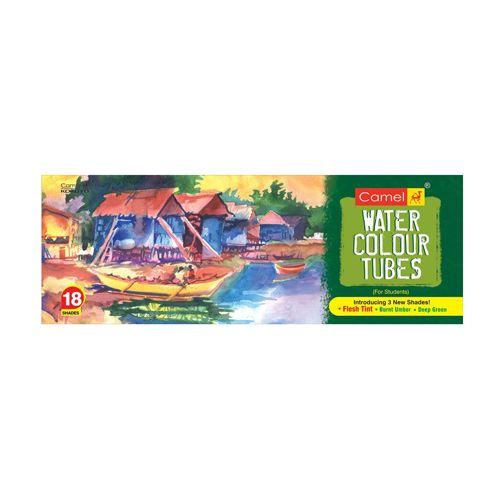 Camlin Student Water Colour Tube - 18 Shades, 1 pc