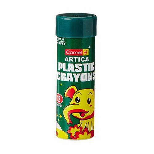 Camlin Plastic Crayons - 12 Shades, 1 pc