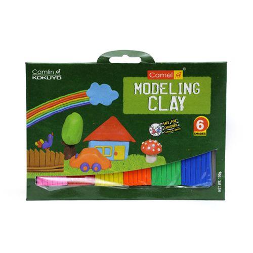 Camlin Modelling Clay - 6 Shades, 1 pc