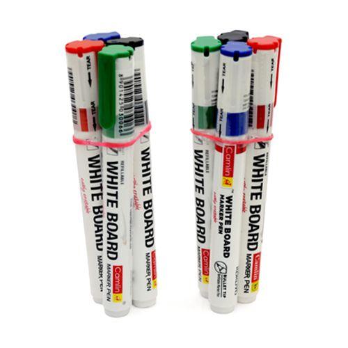 Camlin White Board Marker Pen - Black, 2 pcs