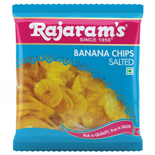 Rajaram's Namken - Banana Chips Salted, 75 g