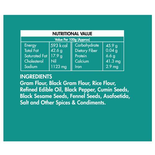 Rajaram's Namkeen - Murukku Bites, 150 g