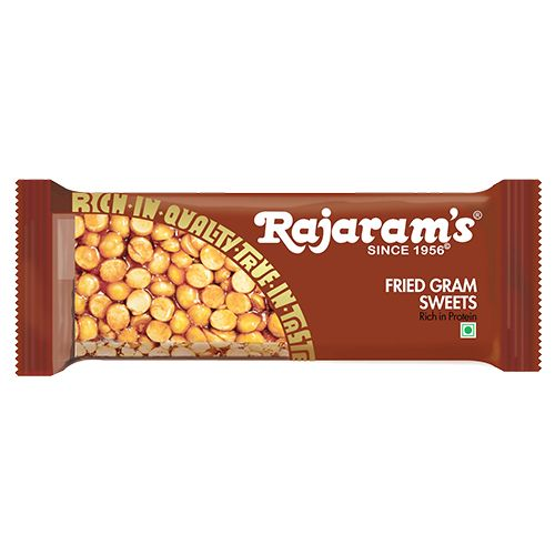 Rajaram's Sweets - Fried Gram, 50 g
