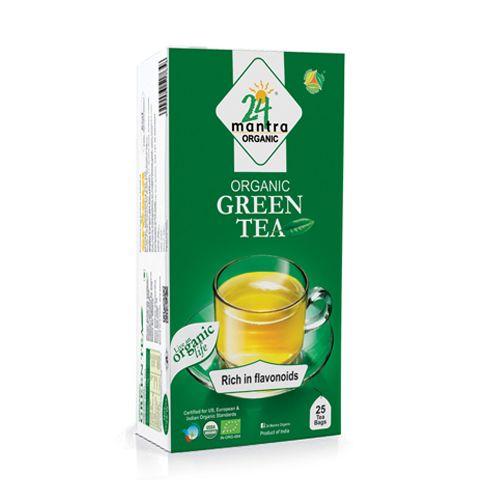 24 Mantra Green Tea, 50 g