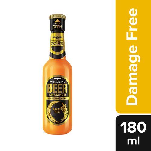 Park avenue Beer Shampoo - Damage Free, 180 ml