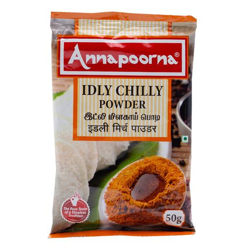 Annapoorna Powder - Idly Chilly, 50 g