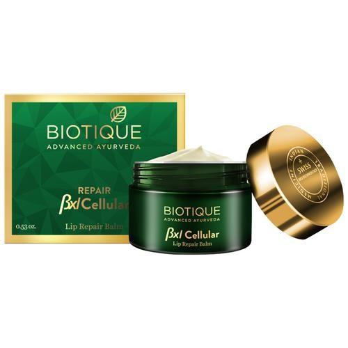 BIOTIQUE Lip Balm - Bio Almond Repair, Bxl Cellular, 15 g
