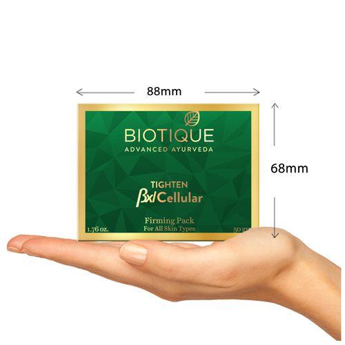 BIOTIQUE Face Pack - Bio Mud Firming, Bxl Cellular, 50 g