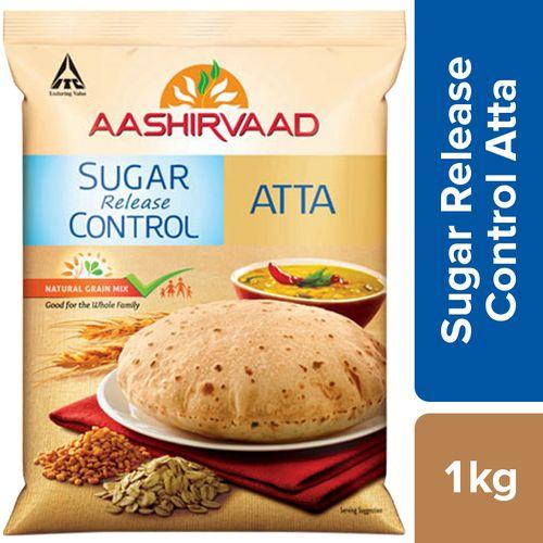 Aashirvaad Atta - Sugar Release Control, 1 kg