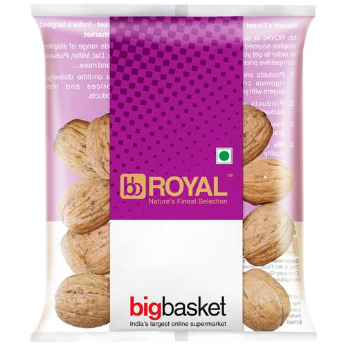 bb Royal California Walnut Whole, 500 gm